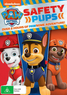 Paw Patrol: Safety Pups  - DVD - NEW Region 4