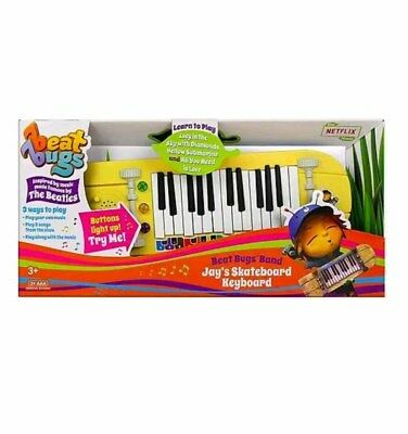 Beat Bugs Music Mentor Jays Skateboard Keyboard With 3 Ways To Play Ages 3+