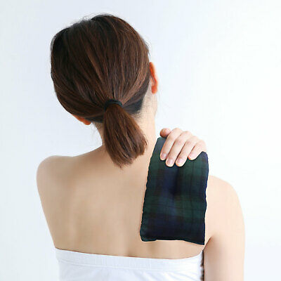 Unscented Luxurious Microwavable Wheat Heat Neck Pack to Help Relieve Pain
