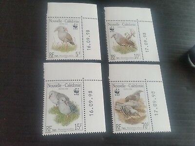 New Caledonia 1998 Sg 1150-1153 Endangered Species Mnh