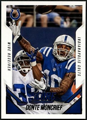TOPPS CHROME FOOTBALL 2014 ROOKIE CARTE #197 Donte Moncrief-Indianapolis Colts