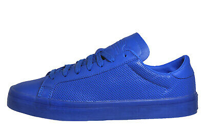 new style 473d8 b403b Adidas Originals Court Advantage Adi Colour Mens Classic Casual Trainers  Blue