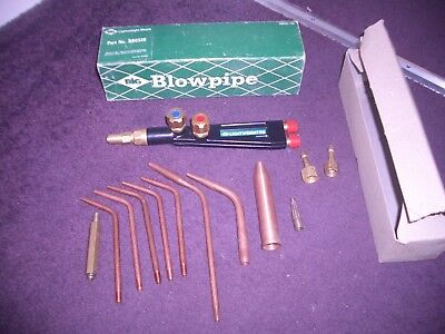 BIG Gas Welding Cutting Blowpipe Torch and weld nozzles