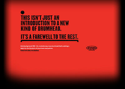 Evans Level 360* Drumheads - Contact Us Direct For Even Better Bundle Deals!
