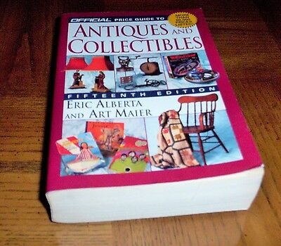 Official Price Guide To Antiques And Collectibles - 15Th Edition