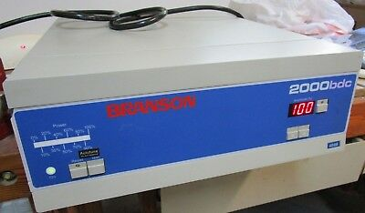 Branson Ultrasonic Welder Power Supply 2000Bdc 2000 Bdc