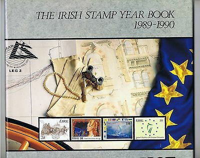1989 1990 Ireland Stamp Year Book Rare An Post Irish Commemorative MNH