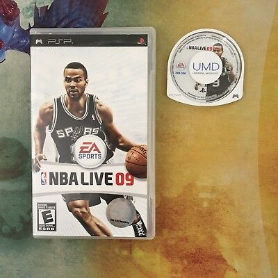 NBA Live 09 - Sony PlayStation Portable PSP - Free Shipping!