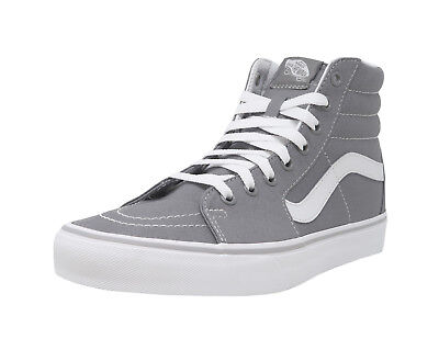 VANS SK8-Hi Frost Gray White Lace Up Fashion Athletic Sneakers Adult Men Shoes
