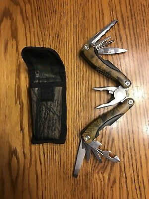BRAND NEW Camo Stainless Steel Multi-Tool