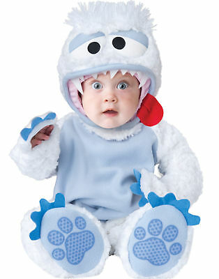 ABOMINABLE SNOWBABY YETI  InCharacter 6-12 month Infant Halloween Costume (H25)