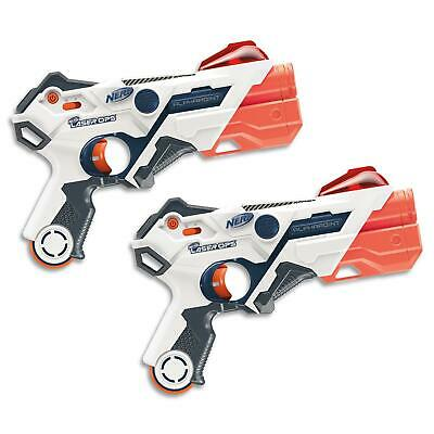 Nerf Laser Ops - AlphaPoint Lazer Blaster X 2 Pack Top Gun In Kids Toy Tag Games