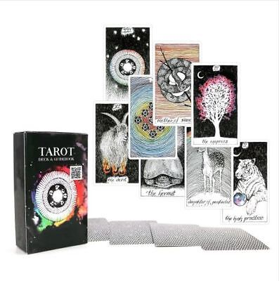 The Wild Unknown Tarot Deck Rider-Waite 78pcs Oracle Set Fortune Telling Cards