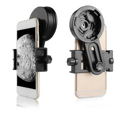 Smart Phone Mount Adapter For Binocular Monocular Telescope Bracket Black Tool