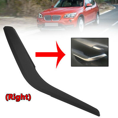 For BMW X1 E84 2010-16 Black Right Side Inner Door Panel Handle Pull Trim Cover