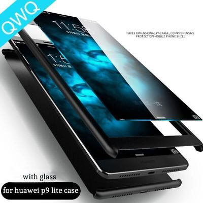 360 Degree full Cover cases For Huawei P9 Luxury Matte Case Ultra Thin Protectio