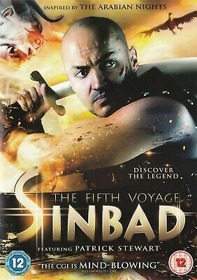 Sinbad The 5th Fifth Voyage - Patrick Stewart - NEW Region 2 DVD