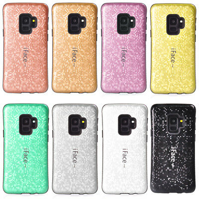 iFace Bling Mosaic Case Cover ForSamsung S9 S8 Note 8 Hybrid Gel Shockproof Hard