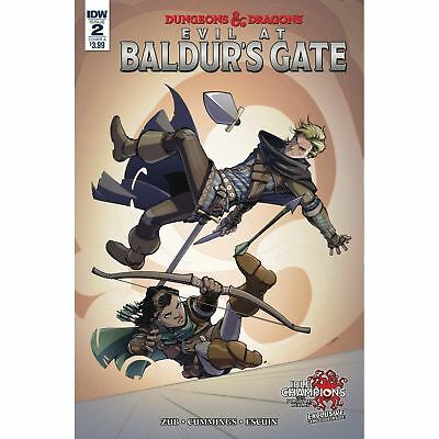 Idw Dungeons And Dragons Evil At Baldurs Gate #2 Cover A First Print