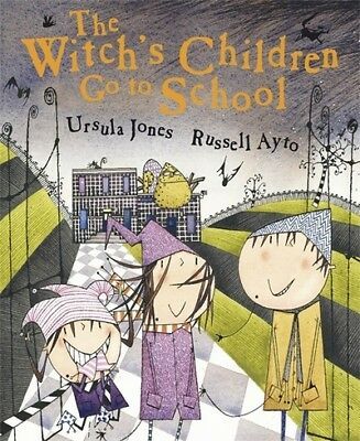 The witch's children go to school by Ursula Jones (Paperback)