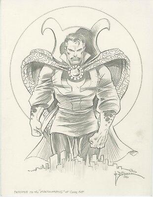 Doctor Strange Drawing - Frank Brunner - Original Art.