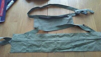 US Military 30 Cal. Carbine M1 Pouch Bandoleer 10 RD Clips LC 13122