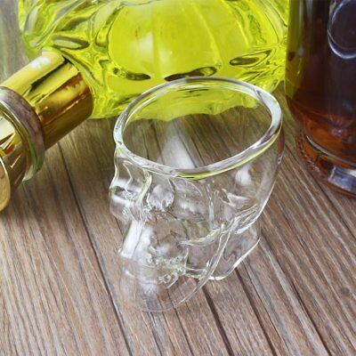 Mini Head Shaped Shot Glass Cup Whisky Wine Bar & Party CupÇ