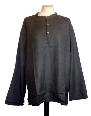 "Shirt Viscose Pirate LARP Medieval Reenactment (4 colours) 34"" to 42"" chest"