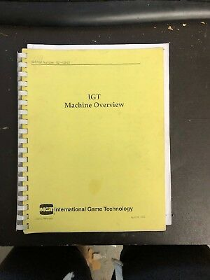 IGT - Machine Overview - Manual