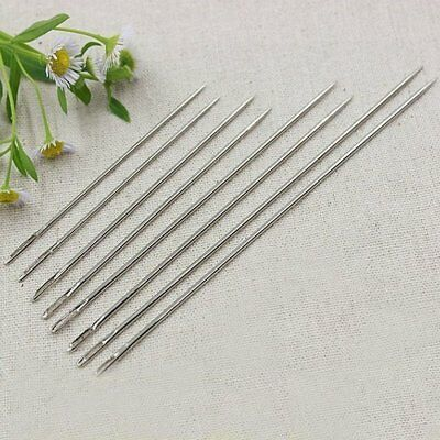 55pcs Hand Sewing Needles Set Stainless Steel+Iron Silver Eye Needles SetÇ