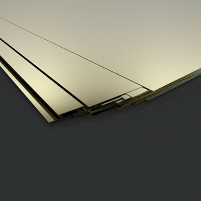 Mega Listing - BRASS SHEET - ALL SIZES AND THICKNESSES - FREE CUTTING
