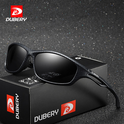 DUBERY Men Sport Polarized Sunglasses Outdoor Driving Riding Fishing Glasses New