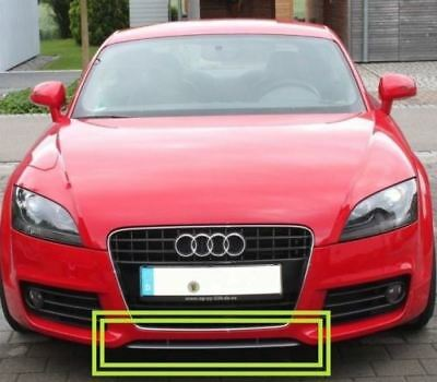 New Genuine Audi TT MK2 07-14 Front Bumper Lower Spoiler Lip Grey 8J08071101RR