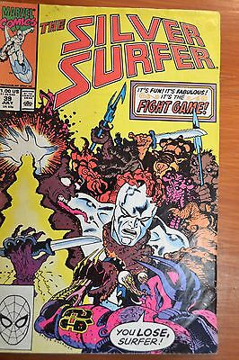 THE SILVER SURFER - MARVEL COMIC-USA  -JULY 1990 - VOL 3  #39   - GOOD condition