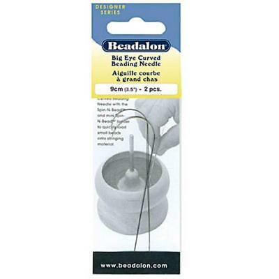 Big Eye Curved Beading Needles