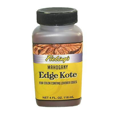 Fiebing's Edge Kote Mahogany 4 oz Edge Finish
