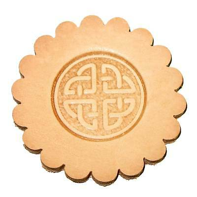 Round Celtic Leathercraft 3-D Stamp 8537-00