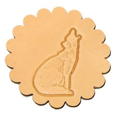 Howling Coyote Left Leathercraft 3-D Stamp 88422-01