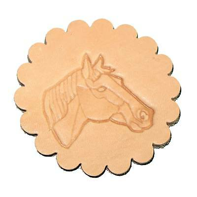 Horse Head Leathercraft Tool 3-D Stamp (Right) 88342-00