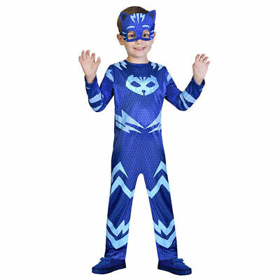 Kids Disguise Catboy Costume Classic Toddler PJ Mask Cosplay Costume Halloween