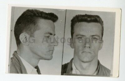 Early 20th Century Mug Shot - Arthur Edmonds - Burglary - Grand Junction, CO