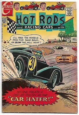 Hot Rods and Racing Cars #105 (Charlton, 1970) – Clint Curtis – VG/FN