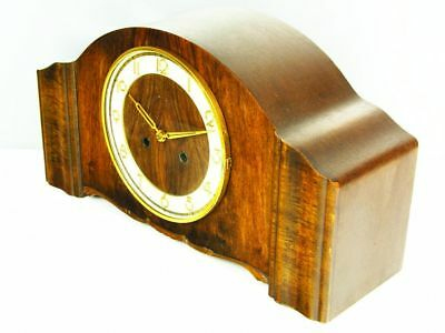 Pure  Art Deco  Chiming Mantel Clock From Kienzle With Potsdamer Melodie