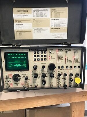 Motorola R2008d/hs Communications System Analyzer Service Monitor R2001