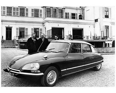 1973 ? Citroen DS Factory Photo cb1587