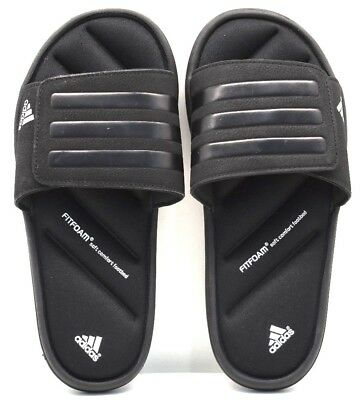 5396e7c61 Adidas Zeitfrei Slide K Q23524 Black Silver US Size 4 - FREE SHIPPING BRAND  NEW