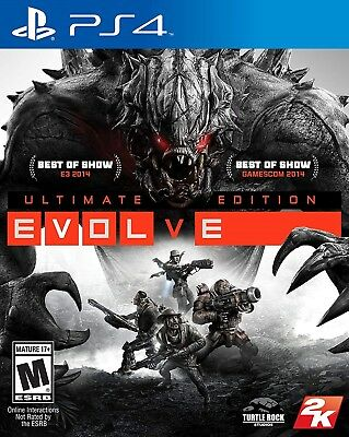Playstation 4 Ps4 Video Game Evolve Ultimate Edition Brand New And Sealed