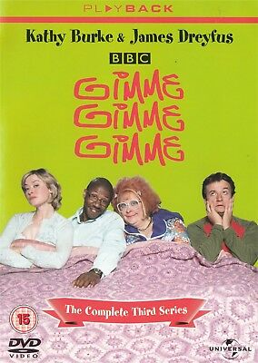 Gimme Gimme Gimme Series 3 (Playback) Kathy Burke - NEW Region 2 DVD