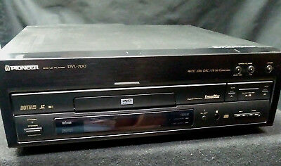 Pioneer DVL-700 Laserdisc Player for parts As-Is