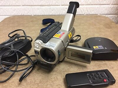 SONY Handycam CCD-TRV87 8mm Video8 HI8 Camcorder Player Video Camera For Parts